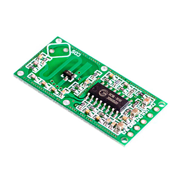 RCWL-0516 - микроволновый датчик движения