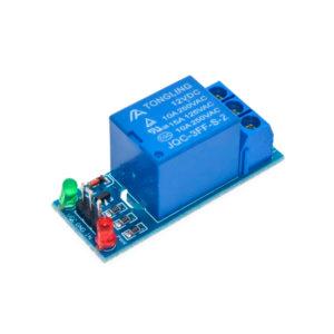 Одноканальное реле 250В / 10А (со светодиодами)