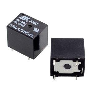 Реле 12V DC SRA-12VDC-CL 20A 5 pin