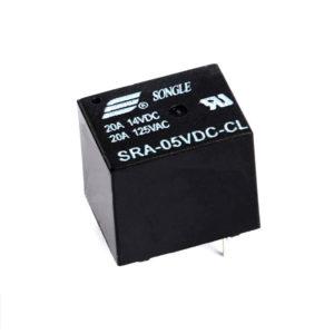 Реле 24V DC SRA-24VDC-CL 20A 5 pin