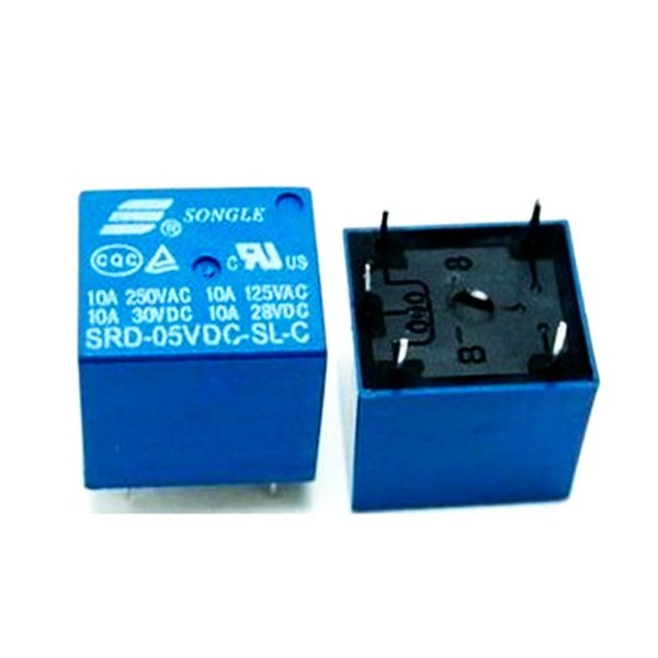 Реле 5V DC SONGLE SRD-05VDC-SL-C