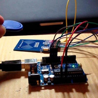 Подключение к Arduino RFID-RC522