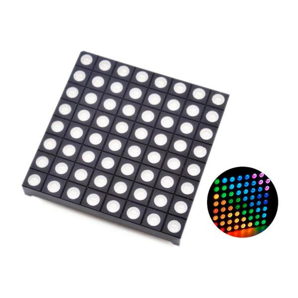 Светодиодная матрица 8х8 RGB LED 60*60 мм
