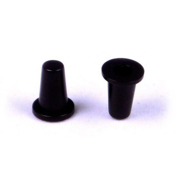 Круглый колпачок A-07 Черный