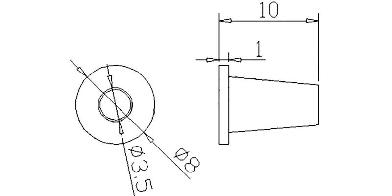 Колпачок А-07 схема