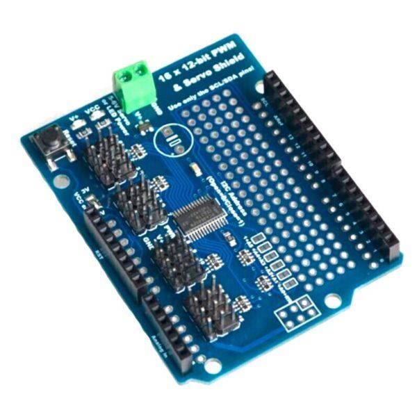 Arduino PWM Servo Shield на 16 каналов