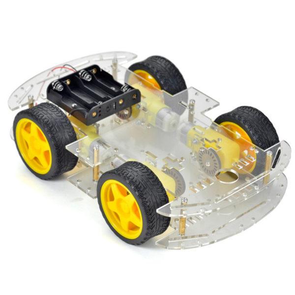 Smart car — четырехколёсное шасси