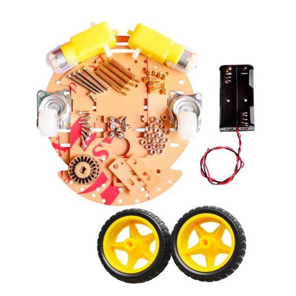 Набор-конструктор шасси-платформа для робота (круглая)