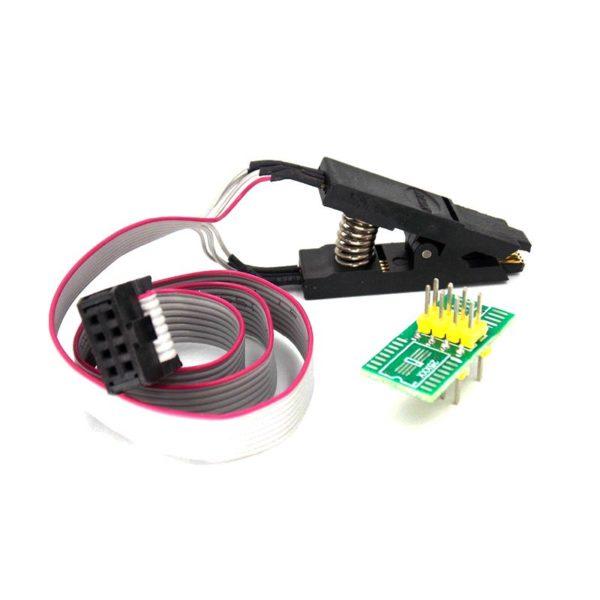 клипса SOP8 и адаптер для программирования EEPROM
