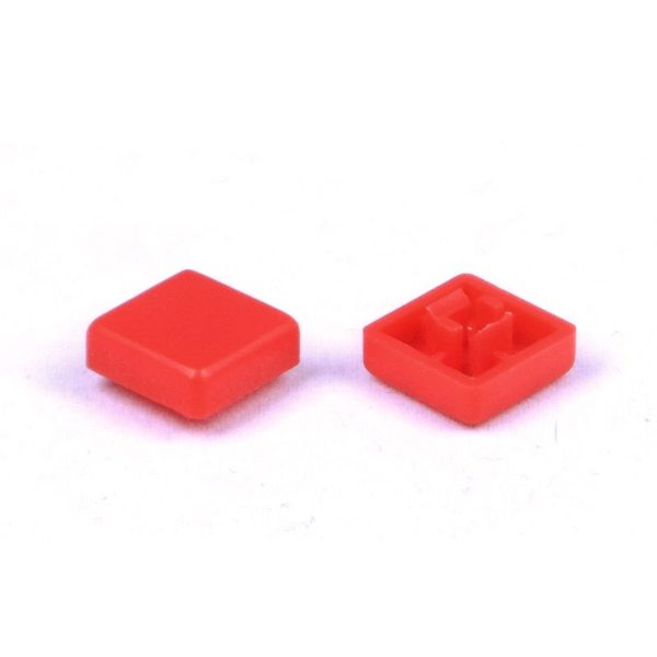 Квадратный колпачок SWT-9S Красный