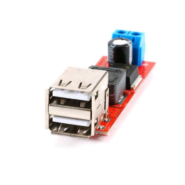 Понижающий преобразователь DC-DC (двойной USB)