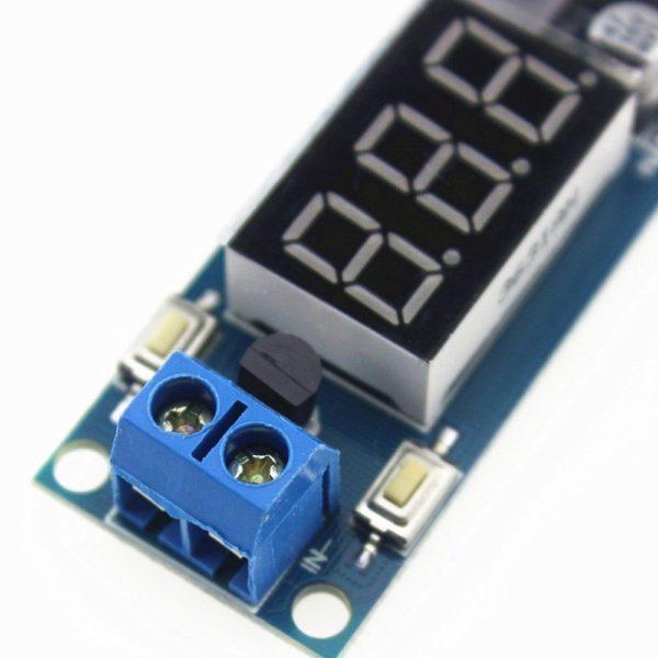 Понижающий преобразователь DC-DC (вольтметр, USB)