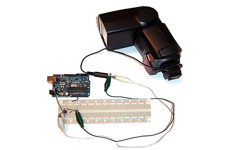 Управление фотовспышкой с помощью Arduino