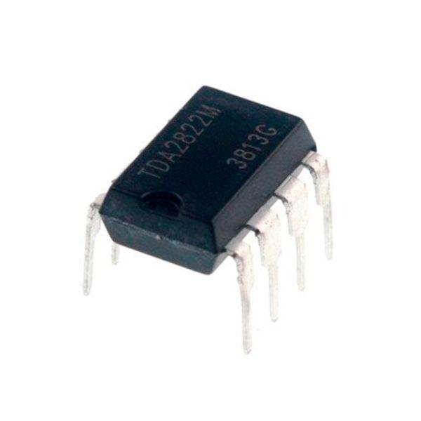 TDA2822 - Низковольтный 2-х канальный усилитель