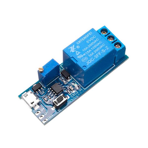 XY-018 — модуль реле с задержкой выключения