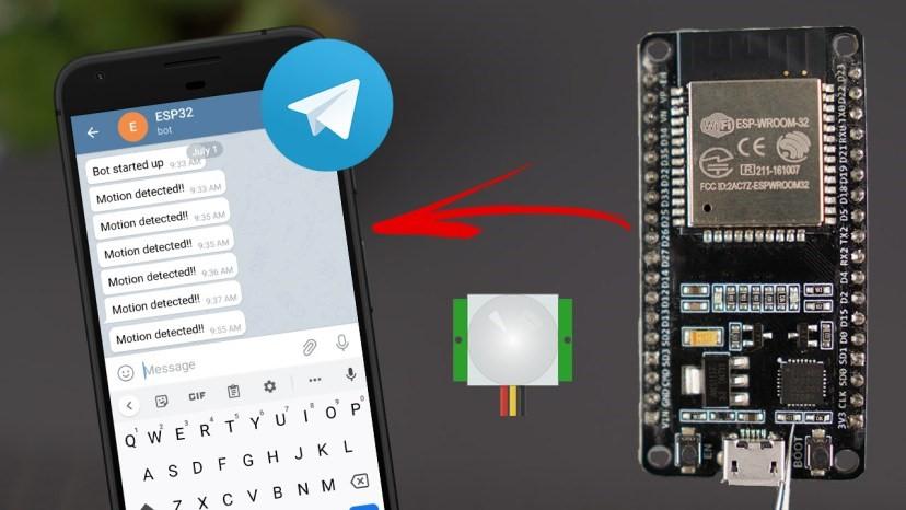 Пирометрический датчик на ESP32 (+уведомления в Telegram)