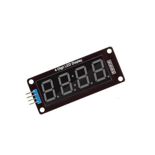 TM1637 0.56″ — семисегментный индикатор (4 разряда)