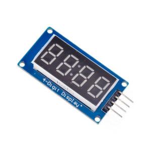 Семисегментный индикатор TM1637 (4 разряда)