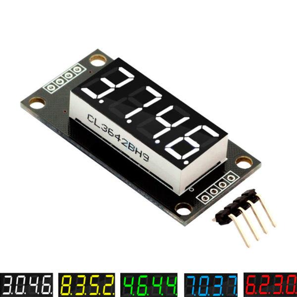 """TM1637 0.36"""" - семисегментный индикатор (4 разряда)"""