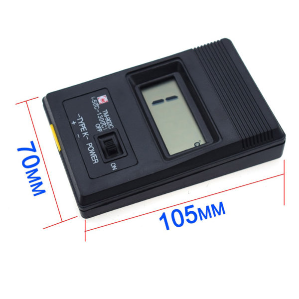Термопара с измерителем температуры (-50C - 1300C)
