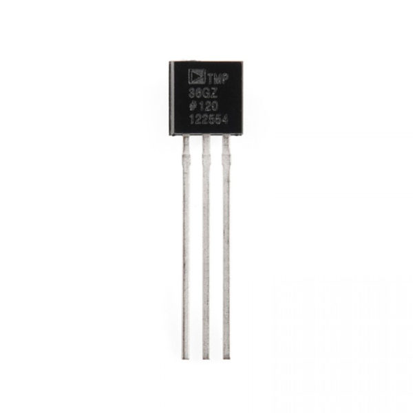 TMP36 - аналоговый датчик температуры