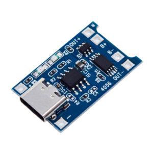 TP4056 - USB Type-C плата заряда Li-Ion АКБ(с защитой)