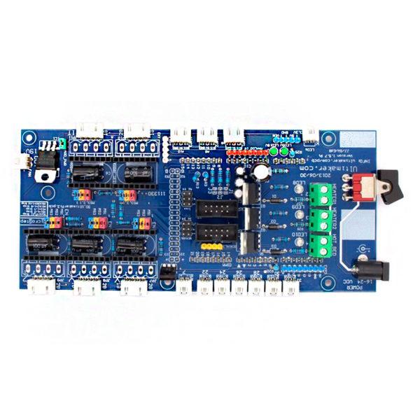 Плата управления Ultimaker PCB 1.5.7 (к Arduino MEGA)