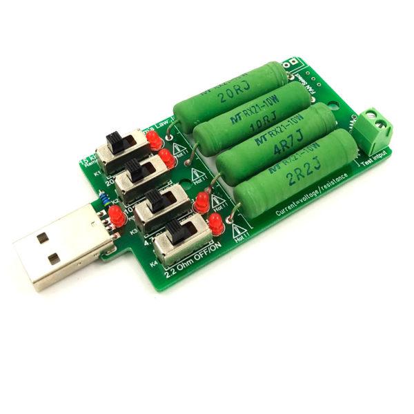 Нагрузочный резистор USB 0,25-4А