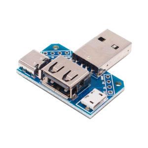 Универсальный USB переходник (Type-C / Type-A / Micro-USB)