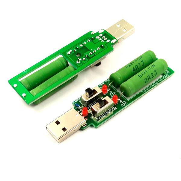 Нагрузочный резистор USB 1/2/3А