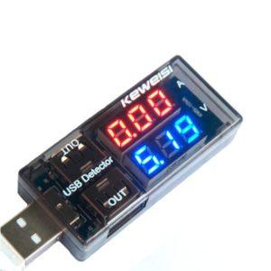 USB тестер напряжения и тока Keweisi KWS-10VA