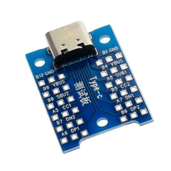 Переходник USB Type-C - DIP (12 pin)