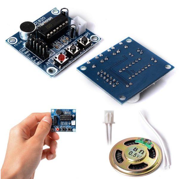 Модуль записи голоса ISD1820 для Arduino