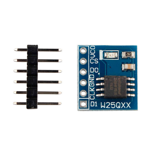 W25QXX — модуль SPI Flash памяти