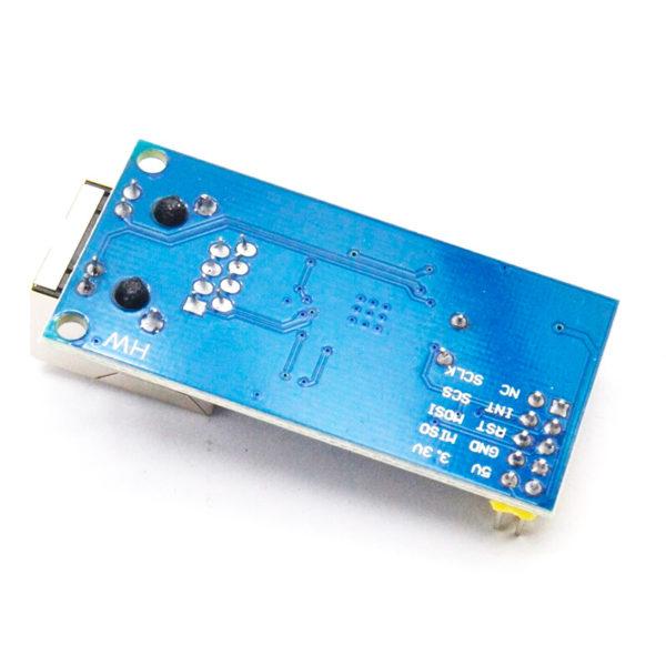 W5500 mini - сетевой Ethernet SPI модуль