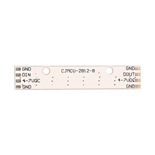 WS2812 светодиодный модуль led 5050 (8 светодиодов)