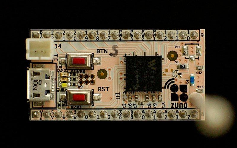 Обзор Z-Uno – платы для прототипирования устройств Z-Wave