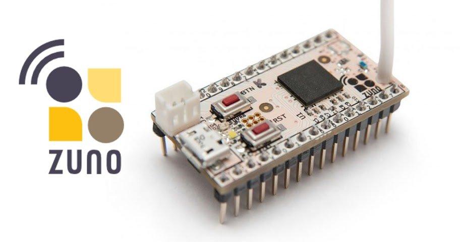Обзор Z-Uno - платы для прототипирования устройств Z-Wave