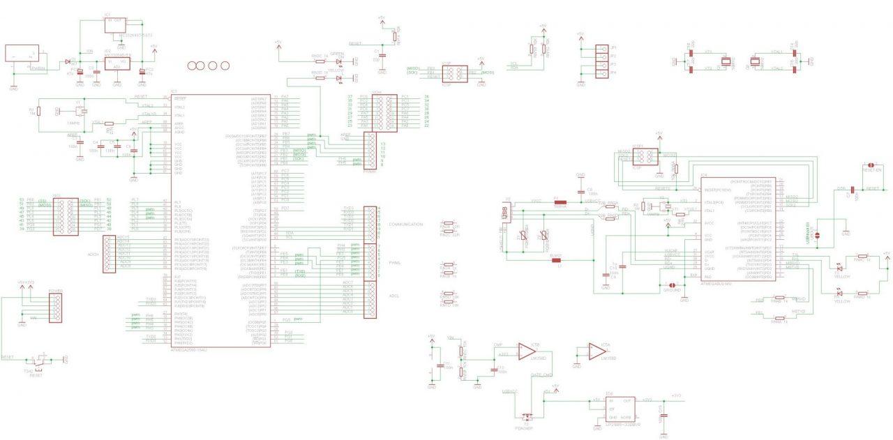 Arduino atmega2560 своими руками 44